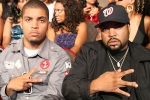 Ice Cube s son  OMG  taking Ice Cubes Son Doughboy