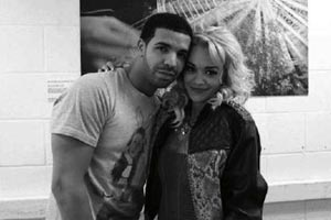 Drake's new girlfriend?