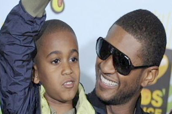 Stars support Usher as stepson decared brain dead