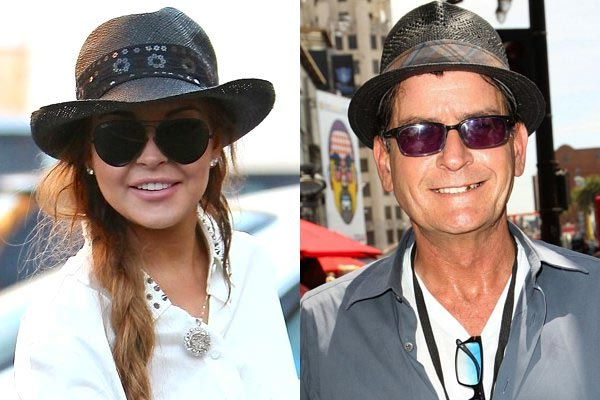 Charlie Sheen and Lindsay Lohan to play lovers