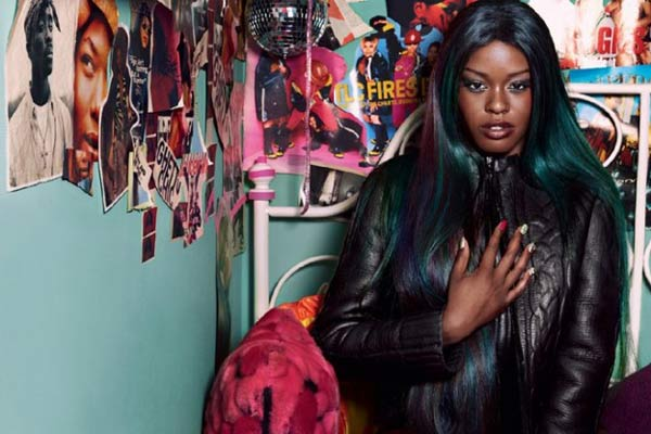 Racy Azealia Banks magazine cover banned