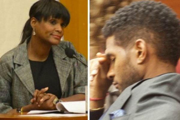 Usher's ex-wife vows to stand firm on custody battle