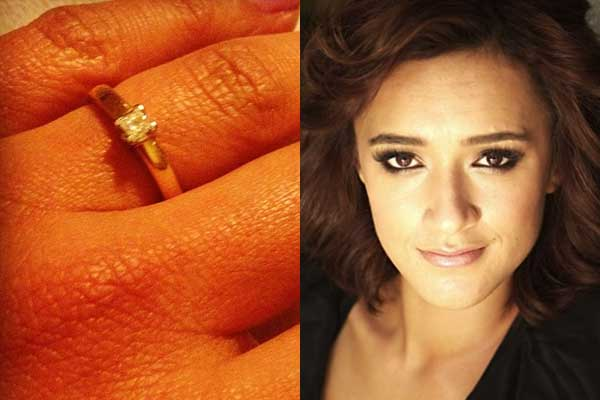 Keisha Castle-Hughes engaged