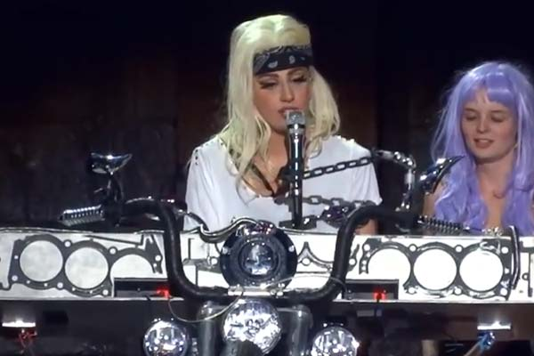 Lady Gaga debuts Princess Diana track at U.K show