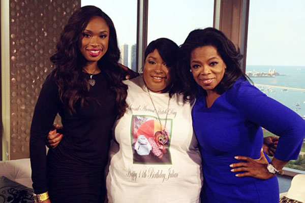 Jennifer Hudson forgives family killer