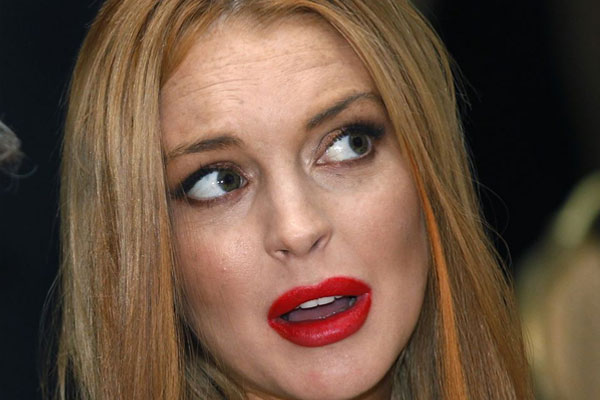 Lindsay Lohan arrested over hit-and-run claim