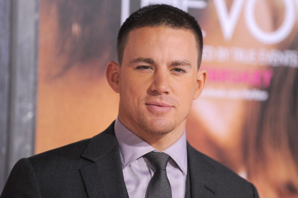 CHANNING TATUM LIKES TO STRIP OFF WHEN HE GETS HOME