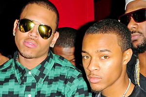 Chris Brown & Bow Wow's big night out