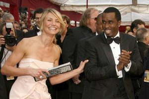 Cameron Diaz and P Diddy