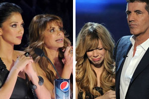 Paula Abdul and Nicole Scherzinger receive death threats