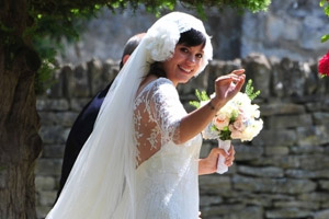 Lilly Allen's wedding day