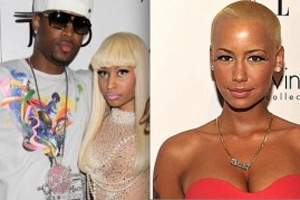 Amber Rose split up Nicki Minaj and her BF