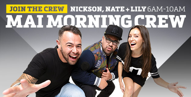 Mai Morning Crew with Nickson, Nate & Lily