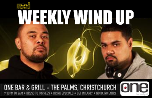 Mai Canterburys ' Weekly Wind Up' with The Clubkingz