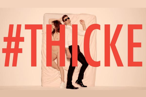 Robin Thicke - Blurred Lines feat. T.I. & Pharrell (NSFW: Contains nudity)