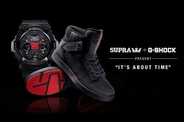 G-Shock x Supra Its About Time