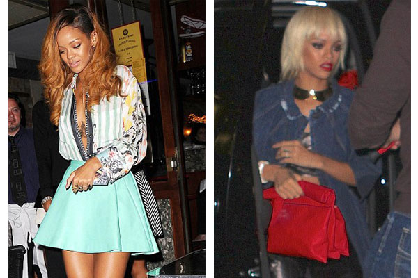 Rihanna's new look