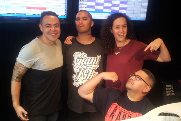 Stan Walker chats with Mai Mornings