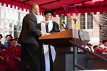 Dr. Dre surprises graduates at California University