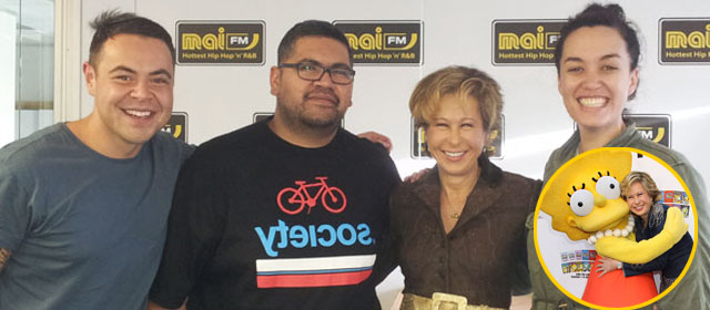 Yeardley Smith 'Lisa Simpson' Raps to Rack City - Yeardley Smith the voice of 'Lisa Simpson' Raps to Rack City and loves Nate! ...