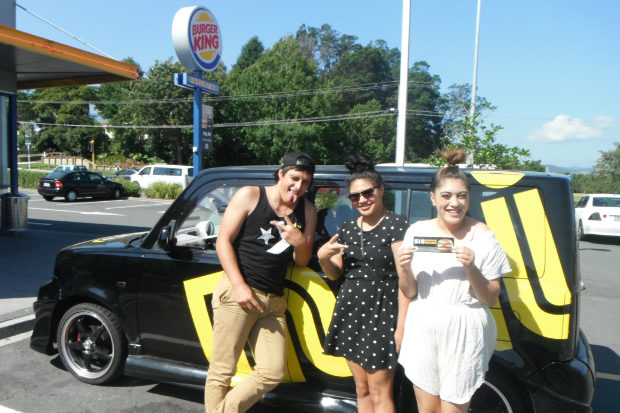 The Mai FM Tauranga Street Team brought to you by BK Fraser Cove