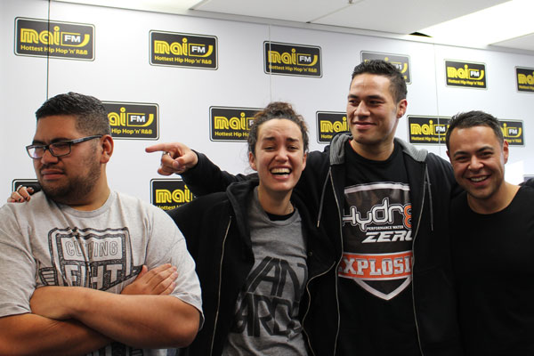 Joseph Parker catches up with Mai Mornings