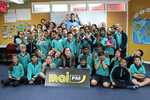 All Blacks visit Flanshaw Road School
