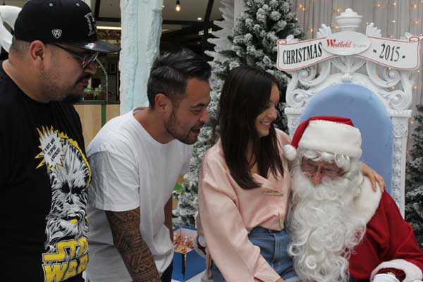The Mai Morning Crew tell Santa what they want for Christmas