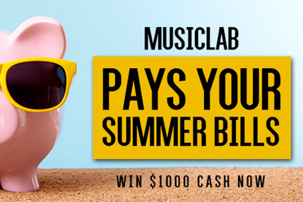 Win $1,000 cash to pay your summer bills