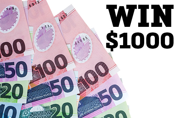 We want you to WIN $1,000