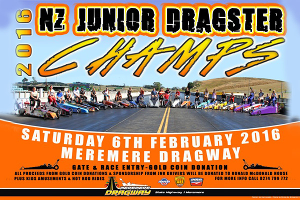 NZ Junior Dragster Champs