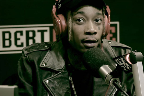 Watch Wiz Khalifa freestyle over Adele's 'Hello'
