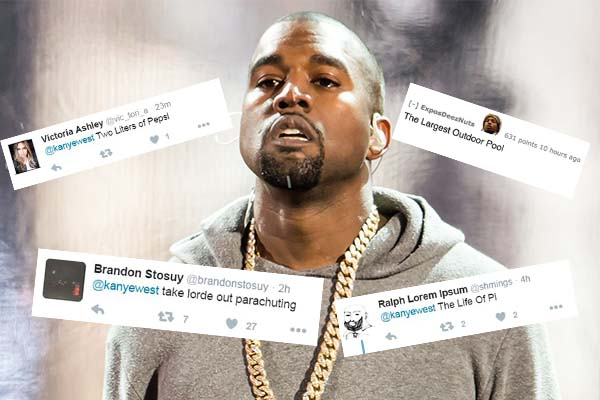 Kanye has changed his album title again and Twitter is going crazy