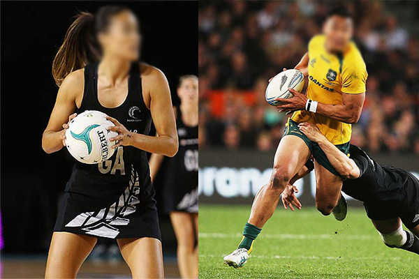 Looks like there's a new trans-Tasman couple in the sporting world...