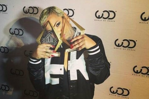 Parris Goebel slays at the World Of Dance Awards
