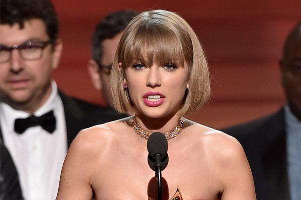 VIDEO: Taylor Swift SLAMS Kanye West in Grammys acceptance speech