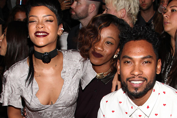 Watch Rihanna and Miguel jam 'My Girl' on Karaoke