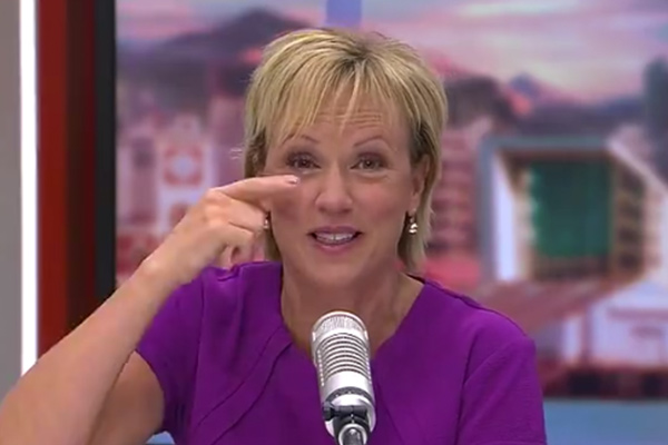 See what caused Hilary Barry's laughing fit this morning