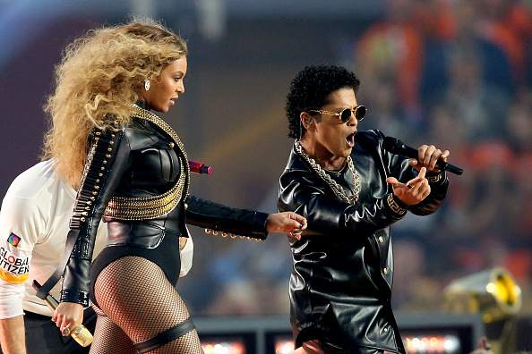 Watch Beyonce, Bruno Mars and Coldplay's Super Bowl performance here