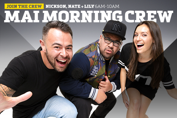 Mai Morning Crew Podcast 9th February 2016