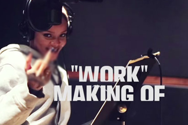 Watch Rihanna bring 'Work' to life