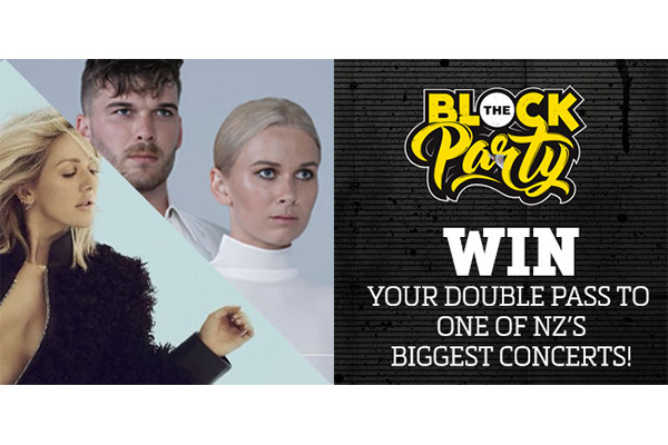 Win tickets to NZ's BIGGEST concerts here!