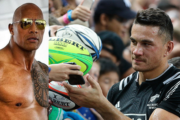 The Rock gets the call up from Sonny Bill Williams