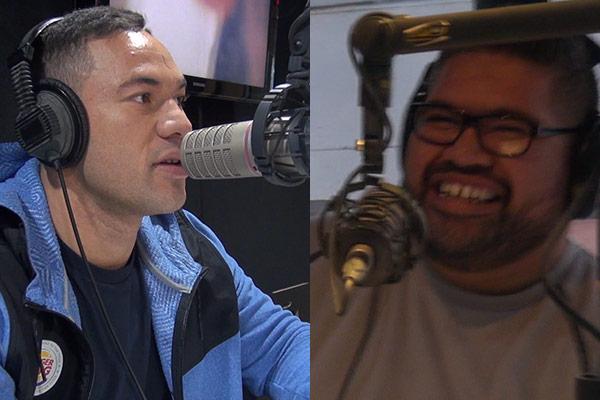 VIDEO: Joseph Parker threatens to break Nate's glasses