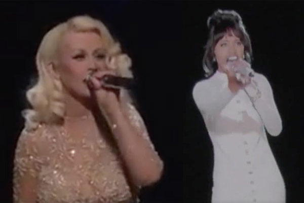 WATCH: Christina Aguilera performance with Whitney Houston hologram leaks online