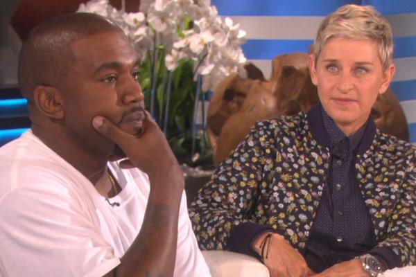 Kanye West leaves Ellen speechless