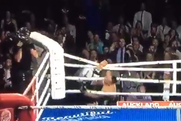 The best boxing celebration fail... EVER