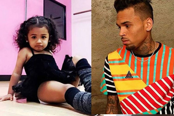 Chris Brown calls out his baby mama for this photo of Royalty
