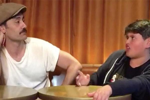 Taika Waititi and Julian Dennison explain Kiwi Slang to Aussies