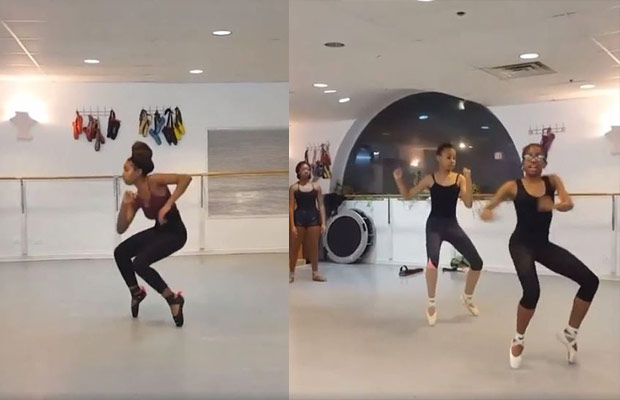 "VIDEO: Ballerinas SLAY Jason Derulo's ""If It Ain't Love"""